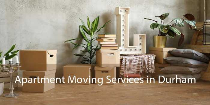 Apartment Moving Services in Durham