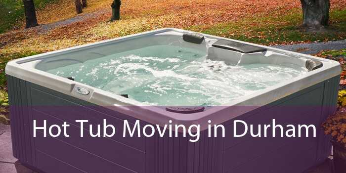 Hot Tub Moving in Durham