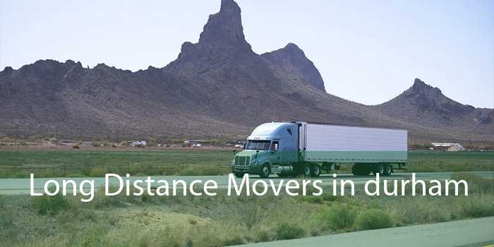 Long Distance Movers in Durham